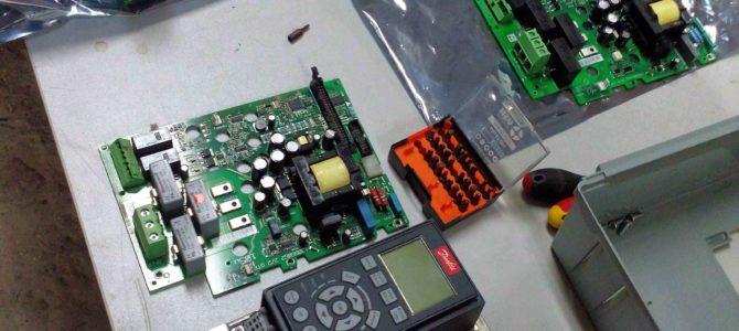 2015.01 : Ремонт преобразователя частоты Danfoss FC302 11кВт (IP21)