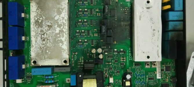 2017.03 : Ремонт преобразователя частоты Danfoss FC302 22кВт