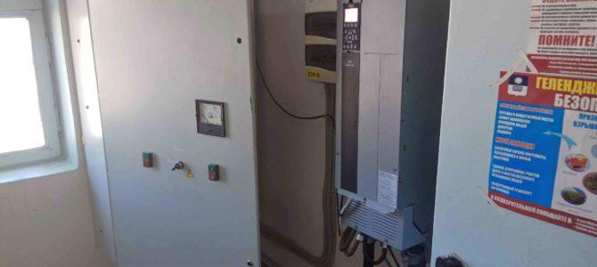 2018.04 : Обследование объекта (шкафы управления насосами и преобразователи частоты)
