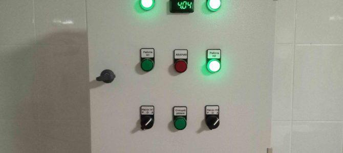 2018.05 : Шкаф управления NOVA — PUMP/PSE/2/2/V20/1,5 коррекция программы