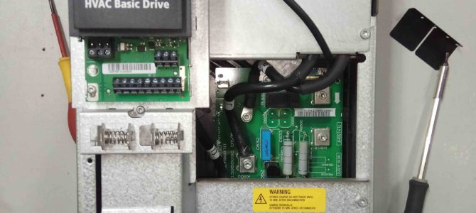 2018.09 : Ремонт преобразователя частоты Danfoss VLT HVAC Basic Drive FC101 30кВт