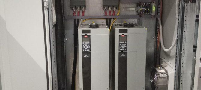 2018.12 : Ремонт преобразователя частоты Danfoss VLT HVAC Drive FC102 110кВт