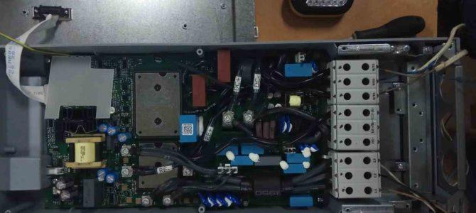 2019.07 : Диагностика и ремонт преобразователя частоты Vacon 100 FLOW 18,5кВт