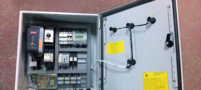 2014.11 : Шкафы управления NOVA — PUMP/PSE/1/1/SS/18,5+C+COS