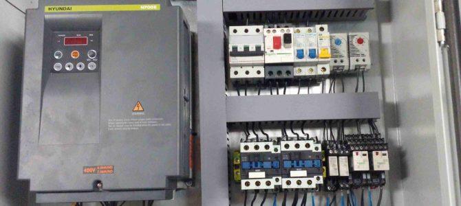 2016.07 : Модернизация шкафа управления