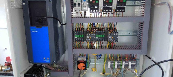 2017.06 : Настройка и запуск в работу шкафа управления двумя насосами Grundfos CR