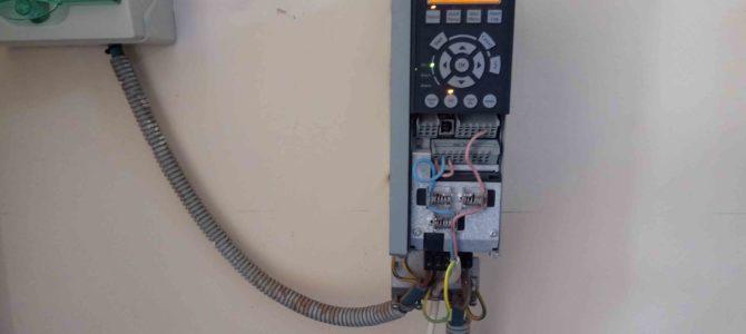 2018.07 Преобразователь частоты Danfoss FC202 AQUA Drive — коррекция параметров.
