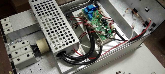 2018.10 : Ремонт преобразователя частоты Danfoss VLT HVAC Drive FC102 90кВт